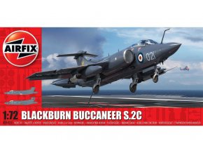 Airfix - Blackburn Buccaneer S.2C, RAF, Classic Kit A06021, 1/72