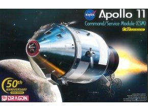 Dragon - Apollo 11 velitelský a servisní modul, Model Kit 11007, 1/48
