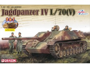 Dregon - Sd.Kfz.162 Jagdpanzer IV L/70(V), Model Kit 6498, 1/35