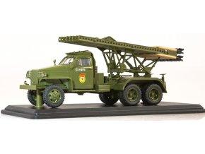 Start Scale Models - Studebaker US6 U3 s raketometem BM-13 Kaťuša, 1/43
