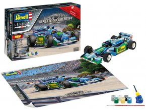 "Revell - formule Benetton Ford B194, 25th Anniversary ""Benetton Ford"", Gift-Set 05689, 1/24"