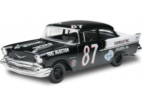 Revell -  Chevy Black Widow '57 2 'n 1, Plastic ModelKit MONOGRAM 4441, 1/25