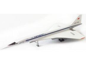 """Herpa - Tupolev Tu-144S, společnost Aeroflot, """"1970s"""" Colors, Rusko, 1/500"""