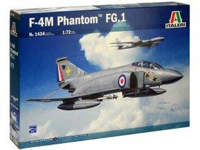 Italeri - McDonnell Douglas F-4M Phantom FG.1, RAF, Model Kit 1434, 1/72