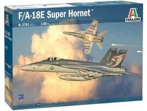 Italeri - McDonnell Douglas F/A-18E Super Hornet, Model Kit 2791, 1/48