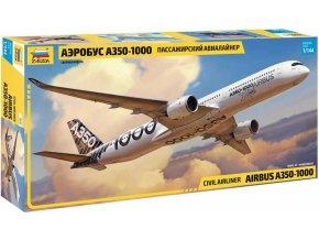 Zvezda - Airbus A-350-1000, Model Kit 7020, 1/144