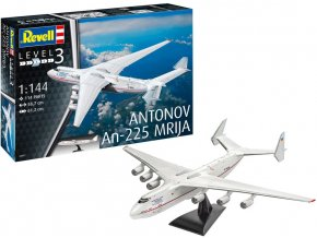 Revell - Antonov An-225 Mrija, Plastic ModelKit 04957, 1/144