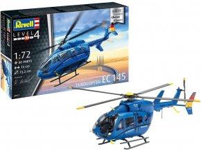 Revell - Eurocopter EC 145, Plastic Modelkit 03877, 1/72