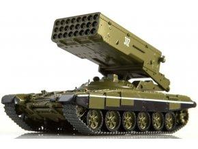 Russian Tanks - TOS-1A, sovětská armáda, 1/43