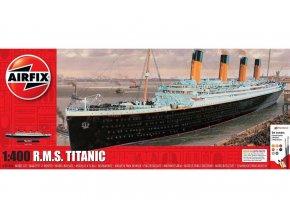 Airfix - RMS Titanic, Gift Set A50146A, 1/400
