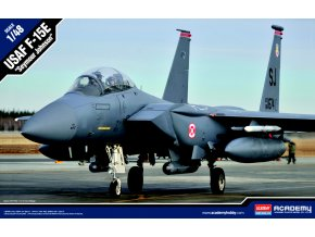 Academy - McDonnell Douglas F-15E Eagle, USAF, základna Seymour Johnson, Model Kit 12295, 1/48