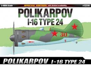 12314 Polikarpov I 16 eng (2)