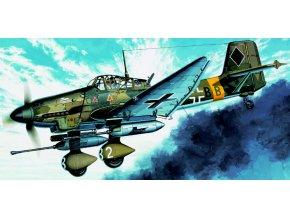 "Academy - Junkers Ju 87G Stuka ""Tank Buster"", Luftwaffe, Model Kit 12450, 1/72"