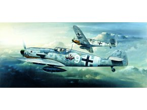 Academy - Messerschmitt Bf 109G-6, Luftwaffe, Model Kit 12467, 1/72