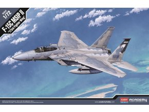 Academy - McDonnell Douglas F-15C Eagle, USAF, 173FW, Model Kit 12506, 1/72