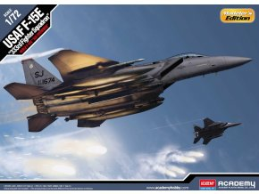 Academy - McDonnell Douglas F-15E Eagle, USAF, 333rd Fighter Squadron, Model Kit 12550, 1/72
