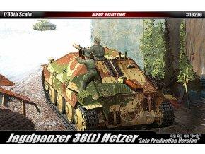Academy - Sd.Kfz.138/2 Jagdpanzer 38(t) Hetzer, Model Kit 13230, 1/35