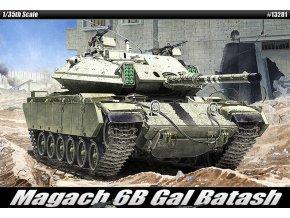 Academy - Magach 6B Gal Batash, Model Kit 13281, 1/35
