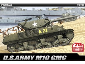 "Academy - M10 GMC Wolverine, US Army, ""Anniv.70 Normandy Invasion 1944"", Model Kit 13288, 1/35"