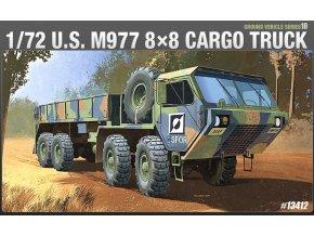 Academy - HEMTT M997 8x8 Cargo truck, US Army, Model Kit 13412, 1/72