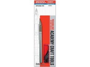 Academy - modelářský nůž a 10 kusů náhradních čepelí