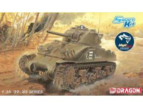 "Dragon - M4 Sherman, US Army, ""Composite Hull"", Model Kit 6740, 1/35"