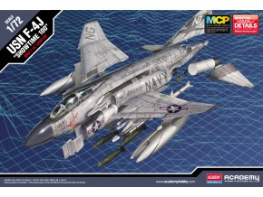 "Academy - McDonnell F-4J Phantom II, US NAVY, ""Show Time 100, Model Kit 12515, 1/72"