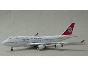 Apollo - Boeing  B 747-412, dopravce Garuda Indonesia, Indonézie, 1/400