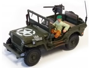 Cararama - Jeep Willys, US Army, 1/43