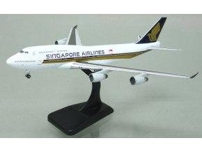 Apollo - Boeing  B 747-412, dopravce Singapore Airlines, Singapur, 1/400