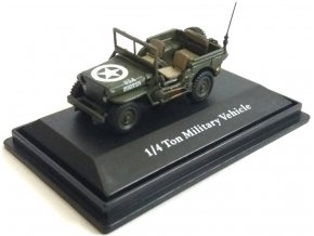 Cararama - Jeep Willys, US Army, 1/72