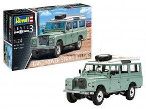 Revell - Land Rover Defender Series III, Plastic ModelKit 07047, 1/24