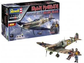 "Revell - Supermarine Spitfire Mk.II, ""Aces High"" Iron Maiden, Gift-Set 05688, 1/32"