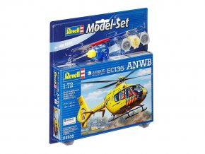 Revell - Eurocopter EC 135, ANWB, Model Set 64939, 1/72