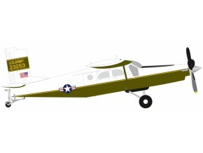 Herpa - Pilatus UV-20A (PC-6), US Army Aviation Detachment, Berlín, 1981, 1/72