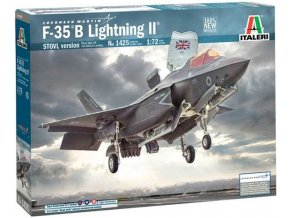 Italeri - Lockheed Martin F-35B Lightning II STOVL version, Model Kit 1425, 1/72