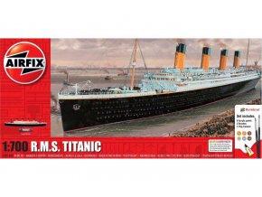 Airfix - R.M.S. Titanic, Gift Set A50164A, 1/700