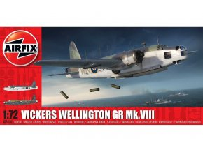 Airfix - Vickers Wellington Mk.VIII, Classic Kit A08020, 1/72