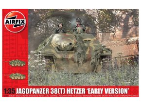 "Airfix - JagdPanzer 38(t) Hetzer, ""Early Version"", Classic Kit A1355, 1/35"