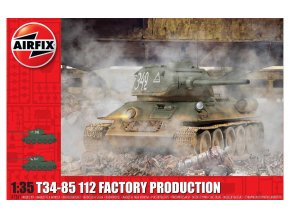 Airfix - T34/85, 112 Factory Production, Classic Kit A1361, 1/35