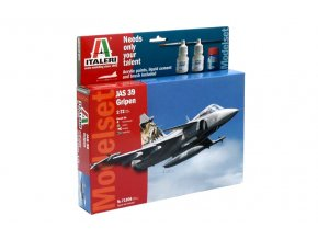 Italeri - Saab JAS-39 Gripen, Model Set 71306, 1/72
