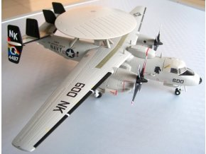 Air Force One - Grumman E-2C Hawkeye, USN, USS Abraham Lincoln, VAW-113 Black Eagles, 1/72
