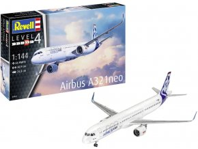 Revell - Airbus A321 Neo, Plastic ModelKit 04952, 1/144