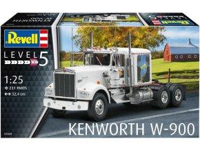Revell - Kenworth W900, Plastic ModelKit 07659, 1/25