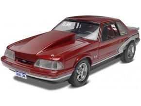 Revell - Mustang LX 5,0 Drag Racer 90, Plastic ModelKit MONOGRAM 4195, 1/25