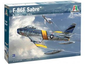 Italeri - North American F-86F Sabre, Model Kit 1426, 1/72