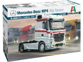 Italeri - Mercedes-Benz MP4 Big Space, Model Kit 3948, 1/24
