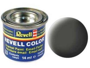 Revell - Barva emailová 14ml - č. 65 matná bronzově zelená (bronze green mat), 32165