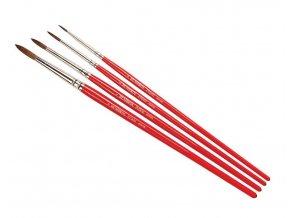 Humbrol - sada štětců (velikost 0/2/4/6), Humbrol Evoco Brush Pack, AG4150