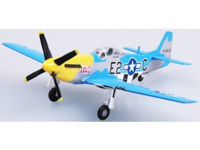 Easy Model - North American P-51D Mustang, USAAF, 375th FS, ''Louiv'', 1/72